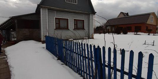 Продаётся участок с домом д.Фёдоровская