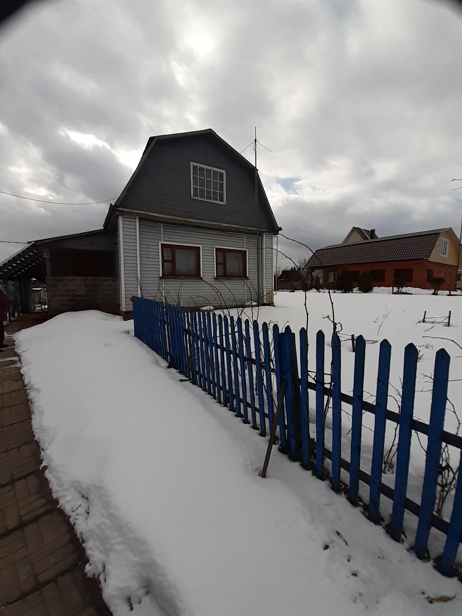 участок с домом, д.Фёдоровское